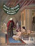 Belle of Nelson Sour Mash Whiskey poster
