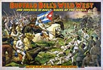 Buffalo Bill's wild west, rough riders of the world Poster