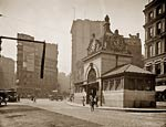 Adams Square Station, Boston, Massachusetts 1905
