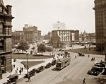 Detroit Plaza, Michigan Campus Martius early 20th century