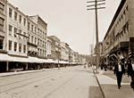 State Street, Ithaca, New York between 1890 and 1901