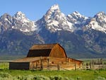 The Mormon Row Barns, Grand Tetons