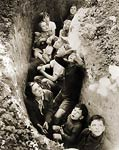 Children in an English bomb shelter 1941