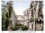 Glastonbury Abbey, St. Joseph's Chapel, England