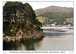 Windermere, Brathay Rock and Waterhead Hotel, Lake District, Eng
