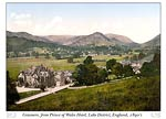 Grasmere, from Prince of Wales Hotel, Lake District, England