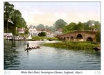 White Hart Hotel, Sonning-on-Thames, England