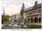Municipal buildings, Southport, England