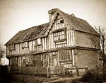 14th century Bidboro Manor House photographed by Henry Bedford L