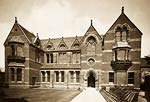 Cambridge Union Society by architect Alfred Waterhouse (English,