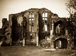 Kenilworth Castle, John of Gaunt's Great Hallold victorian photo