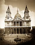 London. St. Paul's Cathedral, West Front