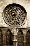 The Bishop's Eye. Rose Window, Lincoln Cathedral
