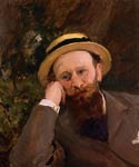 Portrait of Edouard Manet by Carolus-Duran