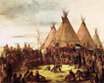 Sioux War Council George Catlin