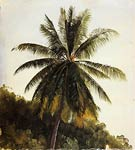 Palm Trees, West Indies Frederic Edwin Church
