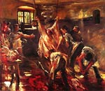 In the Slaughter House Lovis Corinth