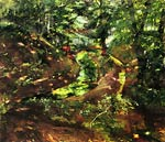 In the Woods near Bernried Lovis Corinth