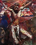 Red Christ Lovis Corinth