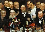 The Freemasons aka Firm in Loyalty Lovis Corinth