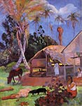 The Black Pigs Paul Gauguin