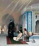 Pool in a Harem copy Jean-Leon Gerome