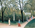 The Luxembourg Gardens. Monument to Chopin Henri Rousseau