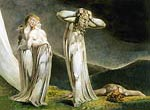 Lamech and his Two Wives William Blake