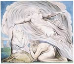 The Lord answering Job out of the whirlwind William Blake