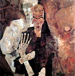 Death and man Egon Schiele