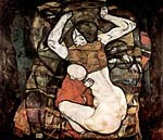 Young mother Egon Schiele