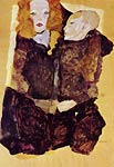 The brother Egon Schiele