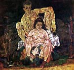 The family of the artist Egon Schiele