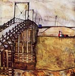 The bridge Egon Schiele