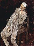 Portrait of Johann Harms Egon Schiele
