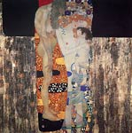 Three Ages Of Woman Gustav Klimt