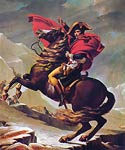 Napoleon Crossing the Alps Jacques-Louis David