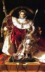 Napoleon I on his Imperial Throne Jean Auguste Dominique Ingres