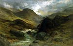 Gorge in the Mountains Gustave Dore