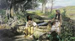 Christ and the Samaritan Woman at the Well Henryk Siemiradzki
