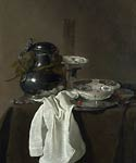 Still Life with a Pewter Flagon and Two Ming Bowls Jan Jansz. Tr