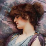 Far Away Thoughts John William Godward