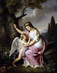 Woman and Cupid Marie-Victoire Lemoine