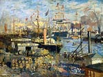 The Grand Dock at Le Havre Claude Monet