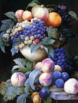 Grapes in a Vase Pierre-Joseph Redoute