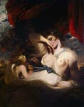 Cupid Untying the Girdle of Venus Joshua Reynolds
