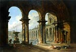 Ancient ruins Used as Public Baths Hubert Robert