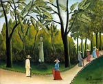 Chopin Monument in the Jardin du Luxembourg Henri Rousseau