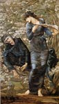 Beguiling of Merlin Edward Burne-Jones