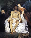 Dead Christ supported by angels Edouard Manet
